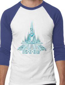EMMETRON Men's Baseball ¾ T-Shirt