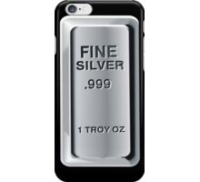Silver Bullion iPod / iPhone Case iPhone Case/Skin