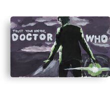 Trust Your Doctor Canvas Print