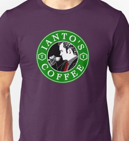 Ianto's Coffee Unisex T-Shirt