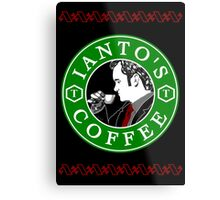 Ianto's Coffee Metal Print
