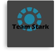 Team Stark Shall Win! Canvas Print