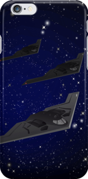 Stealth B2 iPhone 5 Case / iPhone 4 Case  / Samsung Galaxy Cases  by CroDesign