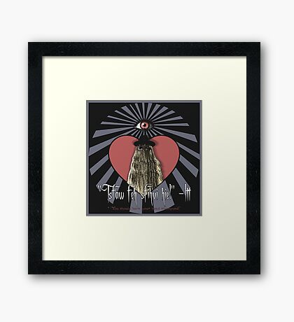 I Love Itt!  Framed Print
