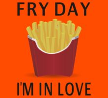 Fry Day I'm In Love Kids Clothes
