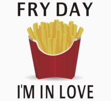 Fry Day I'm In Love One Piece - Short Sleeve