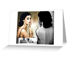 Mirror Mirror On The Wall..... Greeting Card