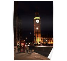 London - Big Ben & A Telephone Booth Poster