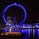 London - London Eye in Motion by rsangsterkelly