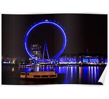 London - London Eye in Motion Poster