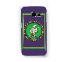 Bear & Blanket Security Services (1) Samsung Galaxy Case/Skin