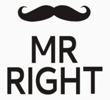 Mr Right by coolfuntees