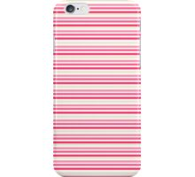Sweet Pink Stripes iPhone Case/Skin