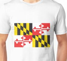 MARYLAND FLAG Unisex T-Shirt