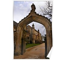 Lacock Abbey, Entrance Arch Poster