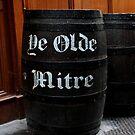 London - Ye Olde Mitre - Barrel  by rsangsterkelly