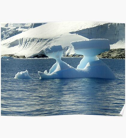 Ice Sculptures Poster
