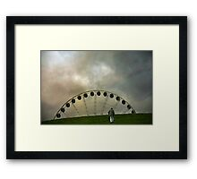 Up the Hill Framed Print