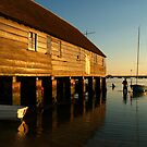 Wading Out Bosham by SerenaB