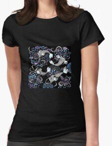 Batik Kois Womens Fitted T-Shirt