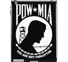 POW MIA iPad Case/Skin