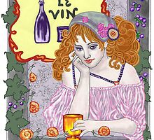 Le Vin Again by redqueenself