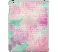 Watercolor Abstraction: Paper Towel iPad Case/Skin