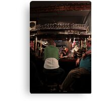 Covent Garden: The Lamb & Flag - Sitting At The Bar Canvas Print