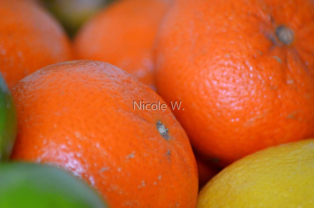 Hot orange by Nicole W.