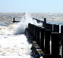 Explosions By The Groyne! by DCLehnsherr