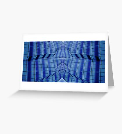 Mirror Lines Greeting Card