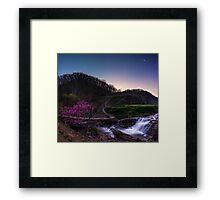 Conjunction at Steele Creek Framed Print