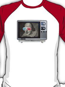 Shakespeare 3D T.V. T-Shirt