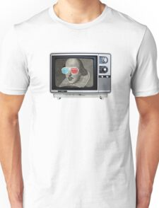 Shakespeare 3D T.V. Unisex T-Shirt