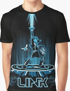 LINKTRON - Blue Variant Graphic T-Shirt