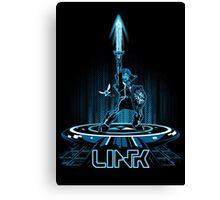 LINKTRON - Blue Variant Canvas Print