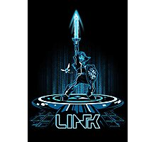 LINKTRON - Blue Variant Photographic Print