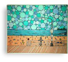 Brighton Beach  Canvas Print