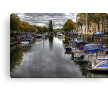 Holland..The City of Den Briel .. Canvas Print