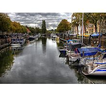 Holland..The City of Den Briel .. Photographic Print