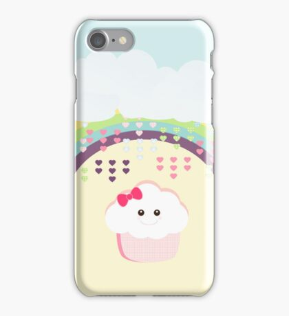 Kawaii Cupcake iPhone Case/Skin