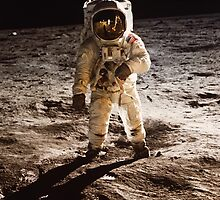 One Small Step for Man by monsterplanet