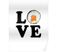 Love Sushi Poster