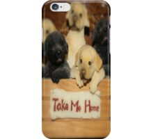 TAKE ME HOME...NO PROBLEM iPhone Case/Skin