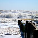 Waves Off The Groyne's Edge! by DCLehnsherr