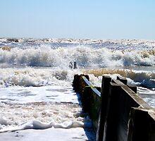 Waves Off The Groyne's Edge! by DCLehnsherr