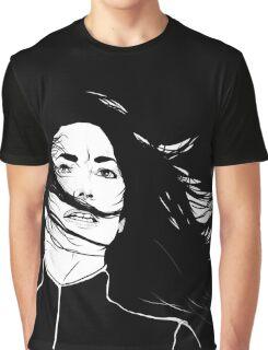 Aeryn Sun - BLACK BG Graphic T-Shirt