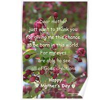 Dear Mother Poster