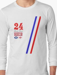 Hesketh Racing James Hunt 24 formula 1 Long Sleeve T-Shirt