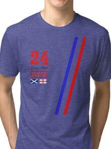 Hesketh Racing James Hunt 24 formula 1 Tri-blend T-Shirt